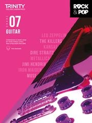 Trinity Rock & Pop 2018 Guitar Grade 7 Book & Download
