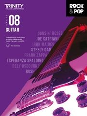 Trinity Rock & Pop 2018 Guitar Grade 8 Book & Download