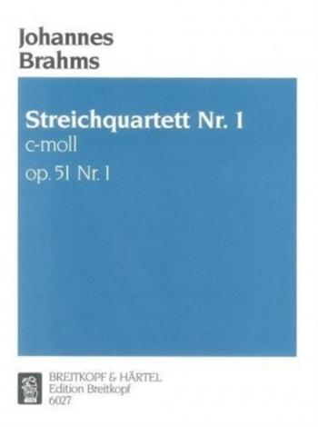 String Quartet C Minor Op51/1:  String Quartet Parts