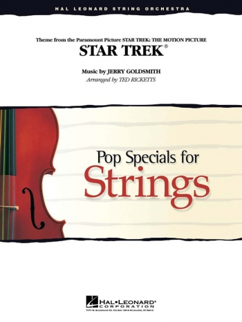 Star Trek: String Orchestra: Pop Specials For Strings: Score & Parts