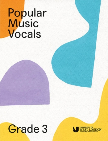 London College Of Music: Popular Music Vocals - Grade 3