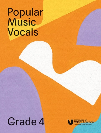 London College Of Music: Popular Music Vocals - Grade 4