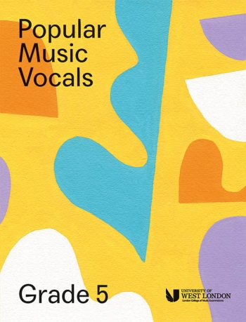 London College Of Music: Popular Music Vocals - Grade 5