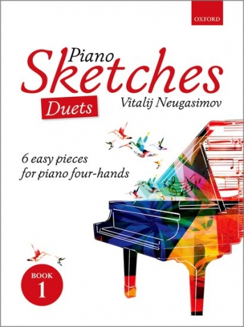 Piano Sketches Duets Book 1  (Neugasimov) (OUP)
