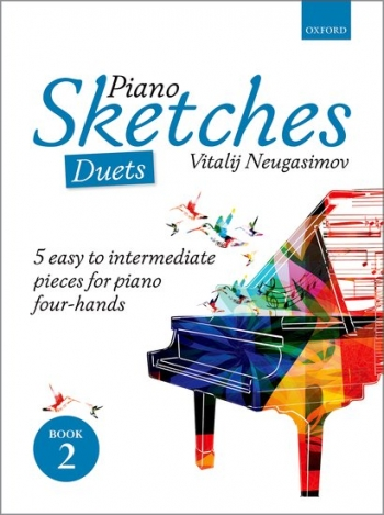 Piano Sketches Duets Book 2  (Neugasimov) (OUP)