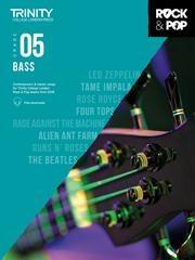 Trinity Rock & Pop 2018 Bass Guitar Grade 5 Book & Download