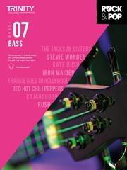 Trinity Rock & Pop 2018 Bass Guitar Grade 7 Book & Download