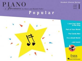 Piano Adventures: Student Choice Series: Popular - Level 1