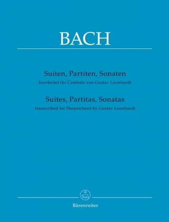 Suites, Partitas And Sonatas For Harpsichord. (Barenretier)