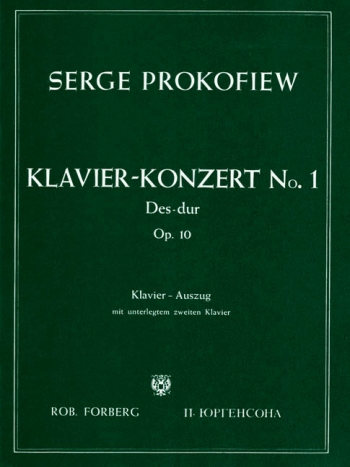 Concerto No.1 D Flat Op.10: Piano Reduction For 2 Pianos (Forberg)