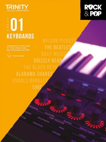 Trinity Rock & Pop 2018 Keyboard Grade 1 Book & Download