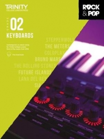 Trinity Rock & Pop 2018 Keyboard Grade 2 Book & Download