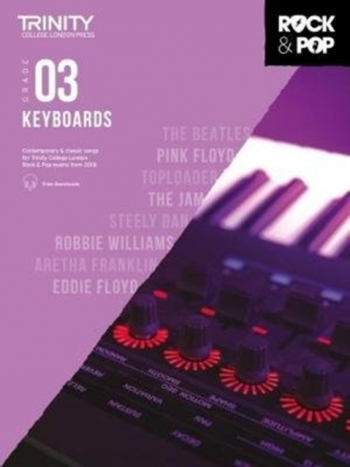 Trinity Rock & Pop 2018 Keyboard Grade 3 Book & Download