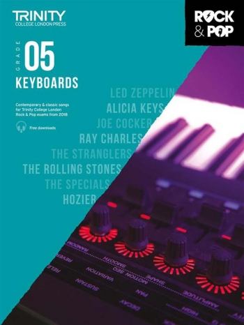 Trinity Rock & Pop 2018 Keyboard Grade 5 Book & Download