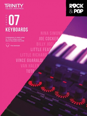 Trinity Rock & Pop 2018 Keyboard Grade 7 Book & Download