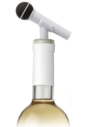 Dynamike - Microphone Bottle Cork (White)