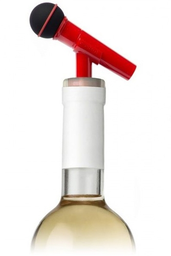 Dynamike - Microphone Bottle Cork (Red)