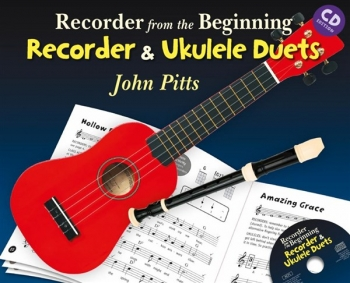 Recorder From The Beginning: Recorder And Ukulele Duets  (Book Only & CD