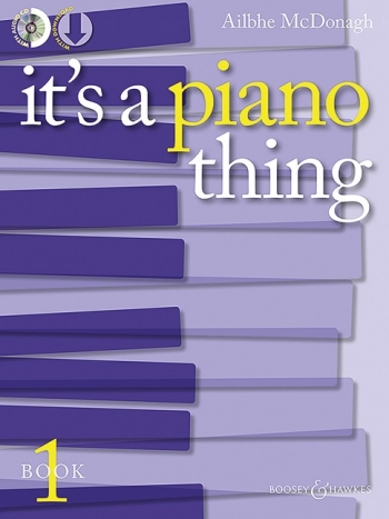 It's A Piano Thing Book 1 Book & Cd ( McDonagh, Ailbhe)