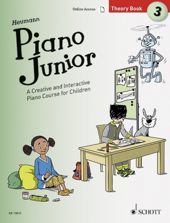 Piano Junior Theory Book 3: Creative And Interactive Piano Course