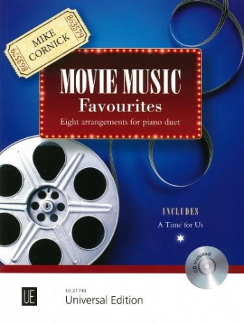 Movie Music Favourites: Piano Duet: Book & CD