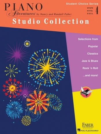 Piano Adventures: Student Choice Series: Studio Collection - Level 4