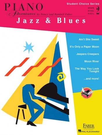 Piano Adventures: Student Choice Series: Jazz & Blues - Level 2