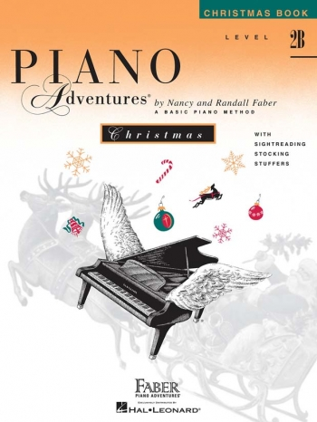 Piano Adventures: Christmas Book: Level 2B