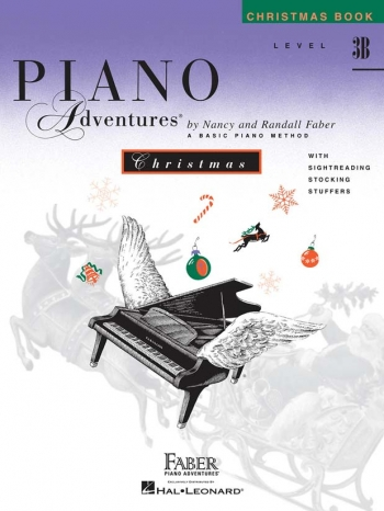 Piano Adventures: Christmas Book: Level 3B