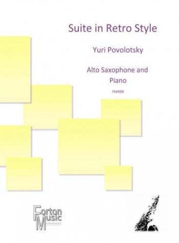 Suite In Retro Style: Alto Saxaxophone & Piano Arr Rainsford