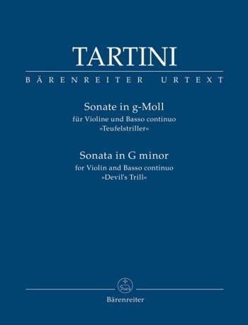 Sonata G Minor: Devils Trill: Violin & Piano (Barenreiter)