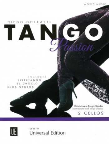 Tango Passion For 2 Violoncellos