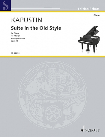 Suite In The Old Style Op.28: Piano (Schott)
