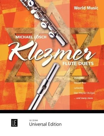Klezmer Flute Duets For 2 Flutes