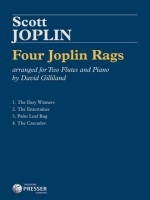 Three Joplin Rags For Four Flutes: Score And Parts