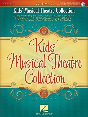 Kids' Musical Theatre Collection: Volume 2 (Book/Online Audio)