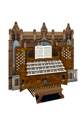 3D Card - Cathedral Organ
