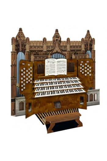3D Card - Cathedral Organ