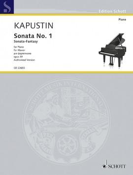 Sonata No.1 Op.39: Piano (Schott)