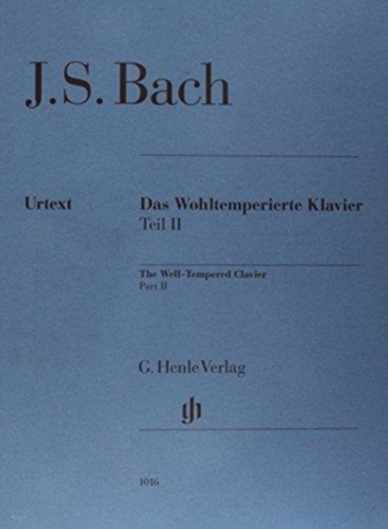 Well-Tempered Clavier Vol.2: Piano: No Fingerings (Henle)
