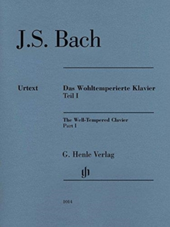 Well-Tempered Clavier Vol.1: Piano: No Fingerings (Henle)