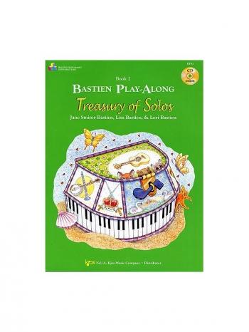 Bastien Play-Along Treasury Of Solos: Book 2 & Cd