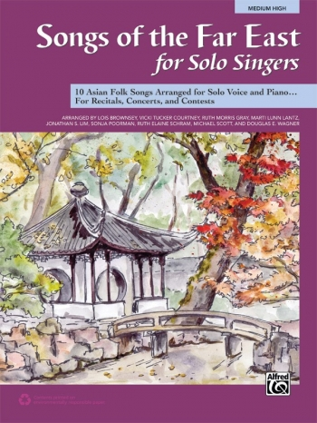 Songs Of The Far East For Solo Singers: Medium High: Book Only