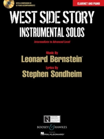West Side Story: Instrumental Solos Clarinet & Piano: Book And Cd