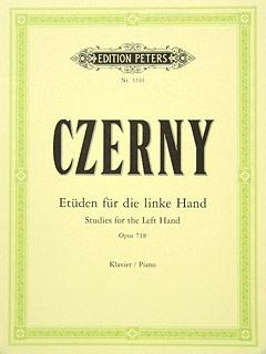 24 Studies For The Left Hand Op.718: Piano Studies (Peters)
