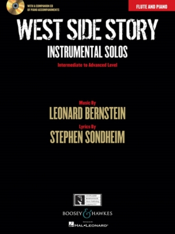 West Side Story: Instrumental Solos Flute & Piano: Book And Cd