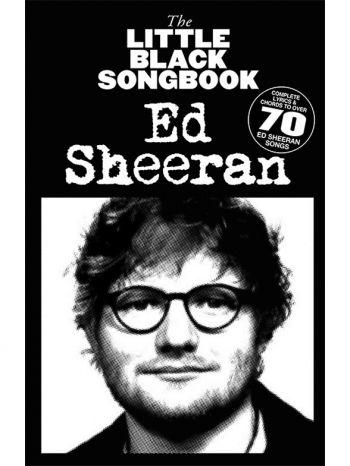 Little Black Songbook: Ed Sheeran: Lyrics And Chords