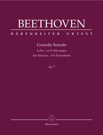 Piano Sonata Eb Major Op.7 Grande (Urtext): Piano (Barenreiter)