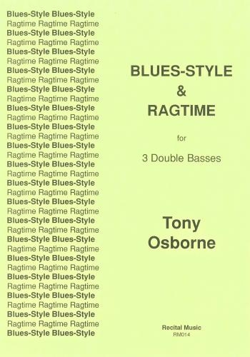 Blues-Style & Ragtime: Double Bass Trio
