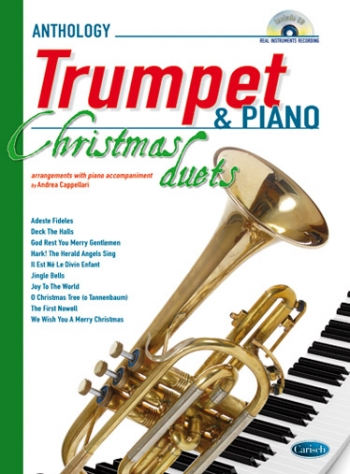 Anthology Christmas Duets For Trumpet & Piano: Book & CD